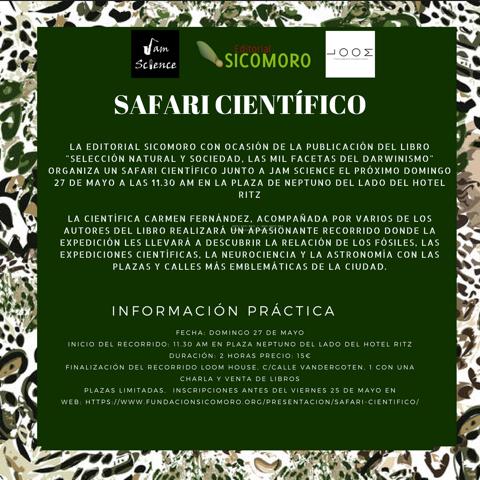 Safari Científico por Madrid