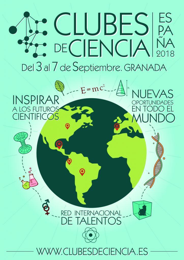 Primer Evento Organizado por Clubes de Ciencia España